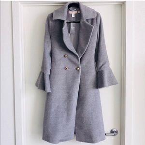 NEW Keepsake the label gray coat ~ size small